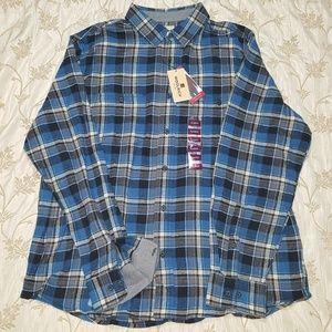 NWT - Woolrich Augusta Flannel, Men's XL